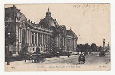 *** Paris - Avenue Nicolas II et le Petit Palais (animée) *** 1907 - CPA 0839