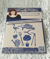 BRAND NEW RELEASE BY TATTERED LACE DIES - GARDENING EMBELLISHMENTS - D1435