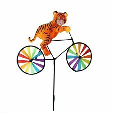 Set Of 2X Animal Bicycle Windmill Wind Spinner Home Garden Decor