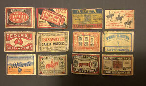 Foreign And Australian Matchbox Labels