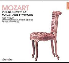 Regis Pasquier, W.a. Mozart - Violin Concertos 1-5 [New CD]