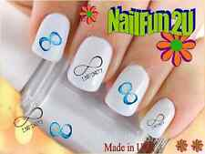 Nail Art #545 Image Infinity Symbol 1 WaterSlide Nail Decals Transfers Stickers