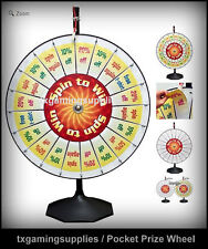 Spin to Win 20 Pocket Insert Prize Wheel Tradeshow Carnival Fair Dallas TX