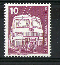 GERMANY 1975 10pf ELECTRIC LOCOMOTIVE COMMEMORATIVE STAMP MNH SG 1740