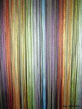 Rainbow Fringe String Curtain Panel New Free Shipping