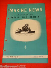 MARINE NEWS - MAY 1963 VOL XVll # 5