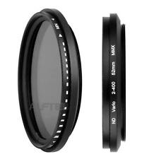 52mm-Filtre ND Fader Variable Réglable Densité Neutre ND2/ND4/ND16 A ND400