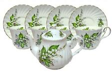 Lily of the Valley Bone China Tea Set For Four Made In England