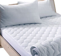 """Single Double King Extra Deep 12"""" Fitted Microfibre Mattress Protector Bed Sheet"""