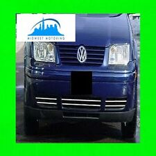 1999-2005 VW VOLKSWAGEN JETTA CHROME LOWER GRILLE TRIM 2000 2001 2002 2003 2004