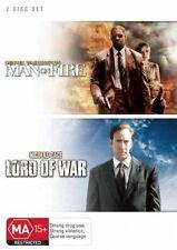 Man on Fire / Lord of War (DVD, 2008, 2-Disc Set) Denzel Washington