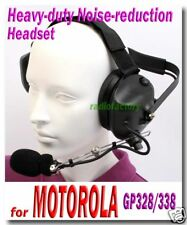 Noise-reduction Headset for GP-328 GP-340 338   80bM328