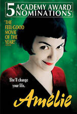 Amelie rare French dvd (2 Disc Set) dvd Audrey Tautou Academy Nominee Mint