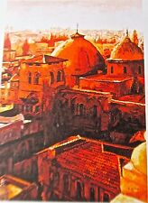 Israeli Artist/Jewish Eli Grebel The Temple Mount 11x8 Signed Lithograph AMD