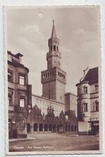 Oppeln Am neuen Rathaus   1939 Oberschlesien