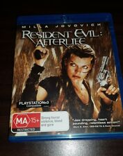 Resident Evil - Afterlife blu-ray like new free post milla jovovich