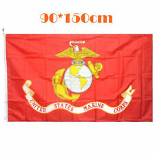 3x5 ft USMC United States Marine Corps Flag Semper Fi American Army Decor Banner