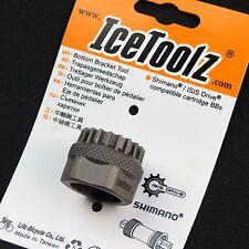 IceToolz 11B3 Bicicleta Pedalier con Cartuchos para Shimano SM-BB9000