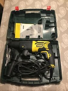 Stanley Fatmax SDS Hammer Drill Model FME500 With Drills