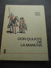 LIBRO DON QUIJOTE DE LA MANCHA. ED. BRUGUERA 1968. 1ª EDICION