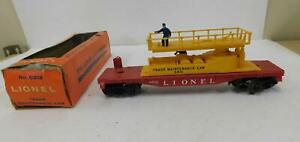 LIONEL 6812 TRACK MAINT CAR