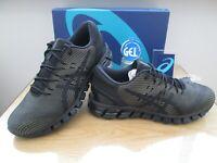 ASICS GEL-QUANTUM 360 4  MENS  BLACK GREEN  RUNNING TRAINERS SIZE UK 9.5 EU 44.5