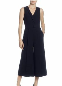 Tahari NWT $138 Black Sleeveless Surplice Form Jumpsuit in Black, Size 8    WB94