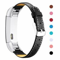 Replacement Leather Wristband Weave Band Strap For Fitbit Alta/Fitbit Alta HR