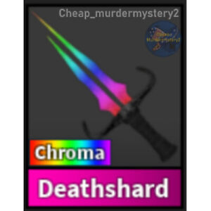 Murder Mystery 2 MM2 Chroma Deathshard Roblox *FAST DELIVERY* Read Description