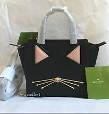 New Kate Spade Jazz Things Up Cat Mini Hayden Satchel Crossbody Bag WKRU4657