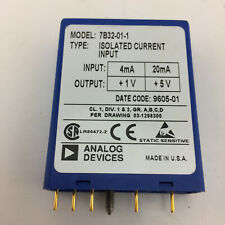 ANALOG DEVICES 7B32-01-1 ISOLATED POWERED CURRENT INPUT MODULE