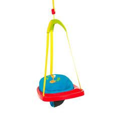 Hauck 64506 Jump Jungle Fun Türhopser blau, rot, gelbes Aufhängeband