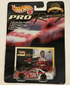 1997 Hot Wheels Pro Racing 1:64 #98 John Andretti RCA Ford Superspeedway 1st Ed.