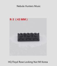 Locking Nut Black 43mm R3 Fit Ibanez, Schecter, Jackson, ESP, Peavey, LTD
