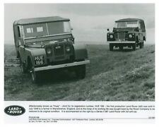 Land Rover Automobile Press Kit and Press Photo