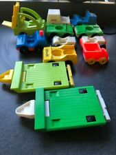 You Choose Vintage Fisher Price Little People CARS TRUCKS FORKLIFT TRAILERS