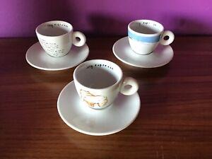 ILLY DREAM BY SHIZUKA YOKOMIZO-3 ESPRESSO CUPS