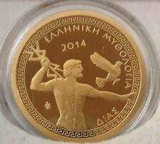 Και ΑΝΤΙΚΑΤΑΒΟΛΗ 🅰️ GOLD PROOF 🅰 GREECE 100 Euro 2014 Zeus 🅰 GRECE Grecia