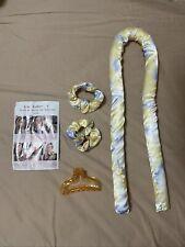 Heatless Curling Rod Headband No Heat Curls Silk Ribbon Hair Rollers Soft WaveWP