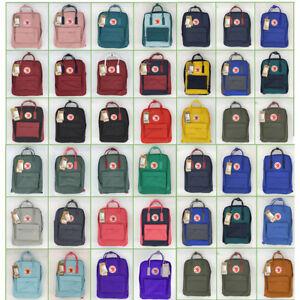 NEW 7L/16L/20L HOT Unisex Fjallraven Kanken Backpack Travel Shoulder School Bags
