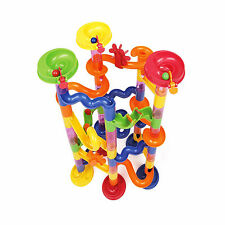 Marble Run Construction Toy Race Building Set Coaster Track Toyrific Deluxe 74pc
