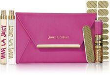 "NEW Juicy Couture Viva La Juicy ""Good as Gold"" Perfume & Manicure Travel Set"