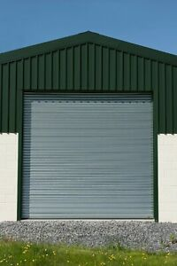 GALVANISED COMMERCIAL STEEL ELECTRIC ROLLER SHUTTERS - ALL SIZES AVAILABLE!.