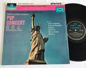 SCX 3503 The Cleveland Pops Orchestra Louis Lane 1962 Columbia !!