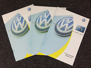 GENUINE VW POLO HANDBOOK OWNERS MANUAL 2008-2014 RCD 310 REF M-867