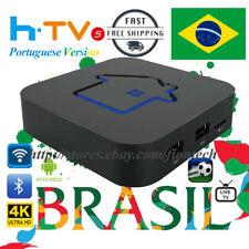 2018 Newest HTV5  Brazilian Portuguese TV Box ,Free priority shipping