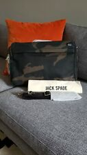 JACK SPADE Camouflage Camo Waxwear Briefcase Backpack Messenger Tumi Dunhill Tod