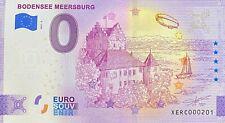 BILLET 0  EURO  BODENSE MEERSBURG   ALLEMAGNE 2021 NUMERO  201