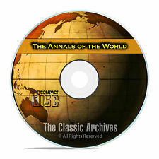 Annals of the World, by James Ussher, Ancient World History, Bible CD PDF F35