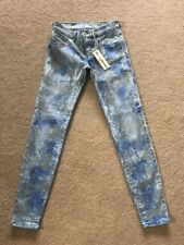 NEW Women's Diesel Livier Ankle Super Slim Jegging Jeans 0828R W26 (1207)